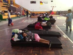 Desplazados albergados en el INDEG (6)