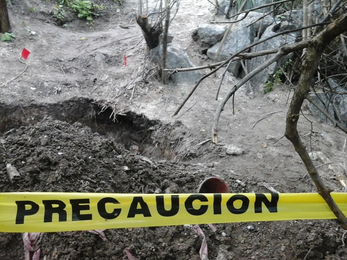 En proceso de identificación, 75 cadáveres rescatados de fosas clandestinas en Iguala