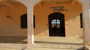 Imagen de la olvidada comisaría de Tepatáhuac, en Igualapa. (Fotografía: Jonathan Cuevas/API)