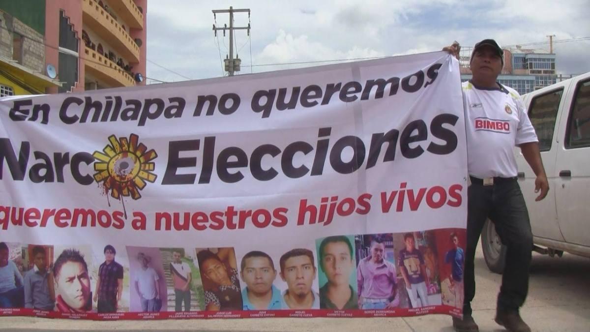 Vehículos de Guerra llegan a Chilapa; ciudadanos se oponen a las elecciones