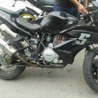 Moto-club recupera una motocicleta robada en Chilpancingo