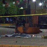 Balacera en el zócalo de Teloloapan dejó tres muertos