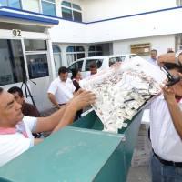 Trituran más de 24 mil credenciales en el INE