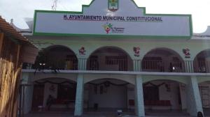 Ayuntamiento de Zitlala, Guerrero. (Fotografía: Jonathan Cuevas/API)