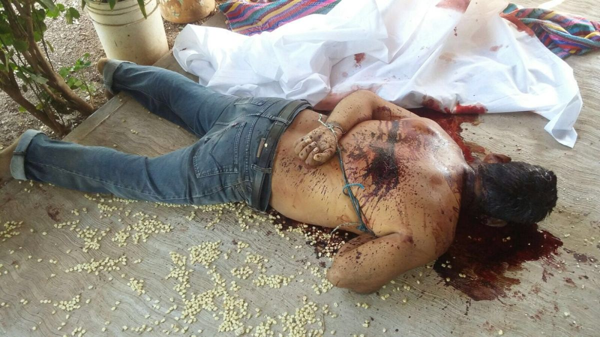 """Sicarios sacan a tres hombres de sus casas, los torturan y degüellan frente a pobladores de """"El Guayabo"""", Arcelia"""