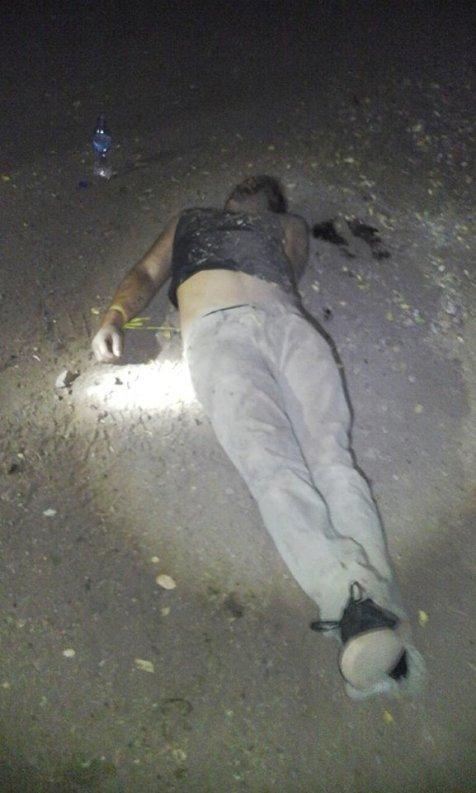 Uno de las últimas víctimas que ha dejado el grupo criminal.