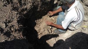 Comité encuentra huesos en fosas ya exploradas (1)
