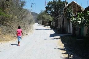"""Son pocas las personas que se atreven a cruzar por la avenida """"Cerrito Rico"""", ante los altos índices de violencia que aquí se han registrado y los mitos que han surgido a raíz de los asesinatos de personas. (Fotografía: José Molina/API)"""